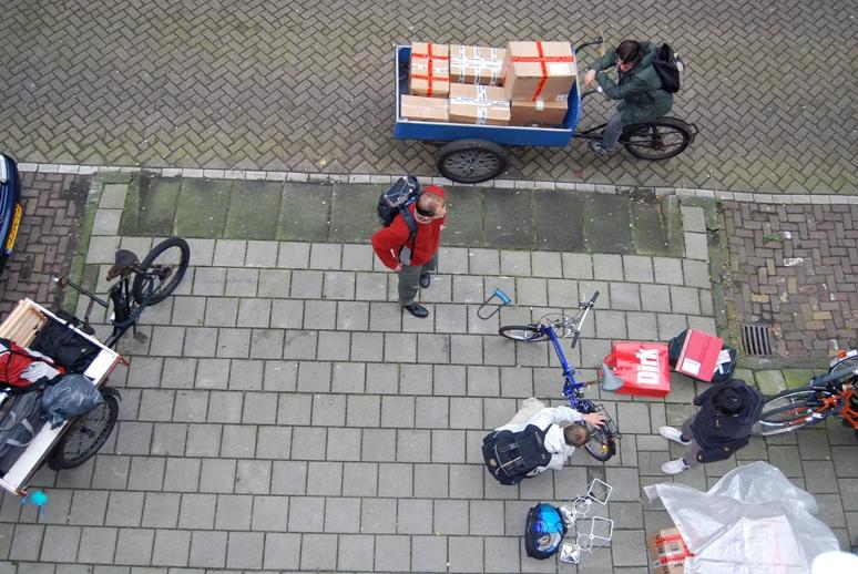 Μετακόμιση με ποδήλατο